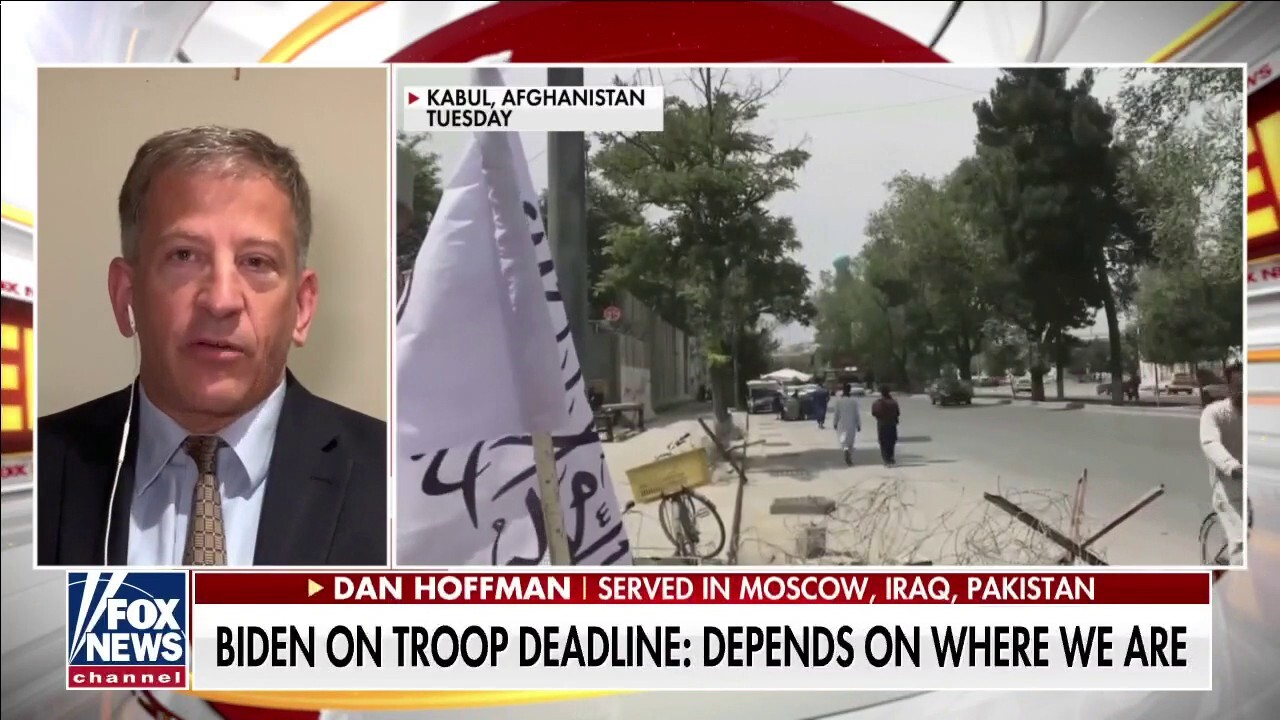 Dan Hoffman: Kabul is a 'war zone,' US has withdrawn 'capability' to help our citizens