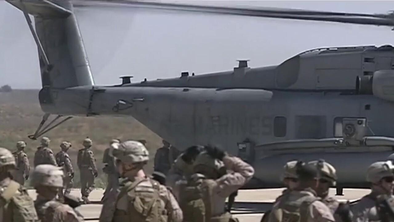 Coronavirus outbreak affects US military training exercises