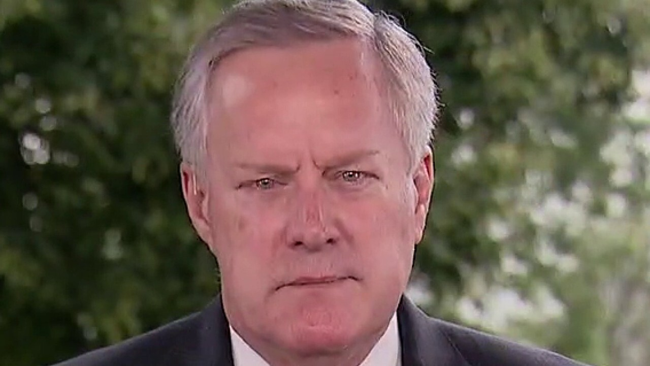 Mark Meadows says there will not be a 'national mandate' on wearing masks