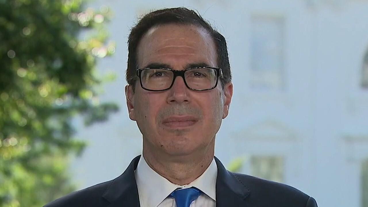 Secretary Mnuchin on negotiations for additional COVID relief, heath of US economy