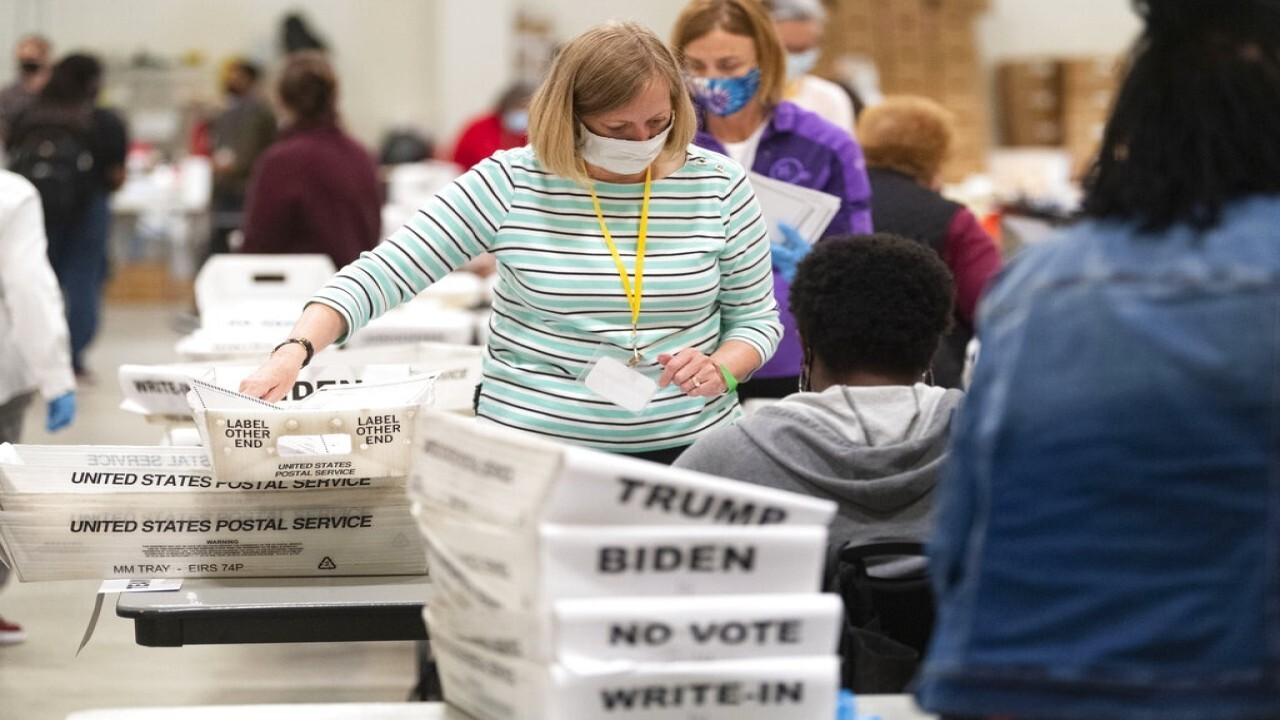 Second Georgia county finds thousands of uncounted ballots