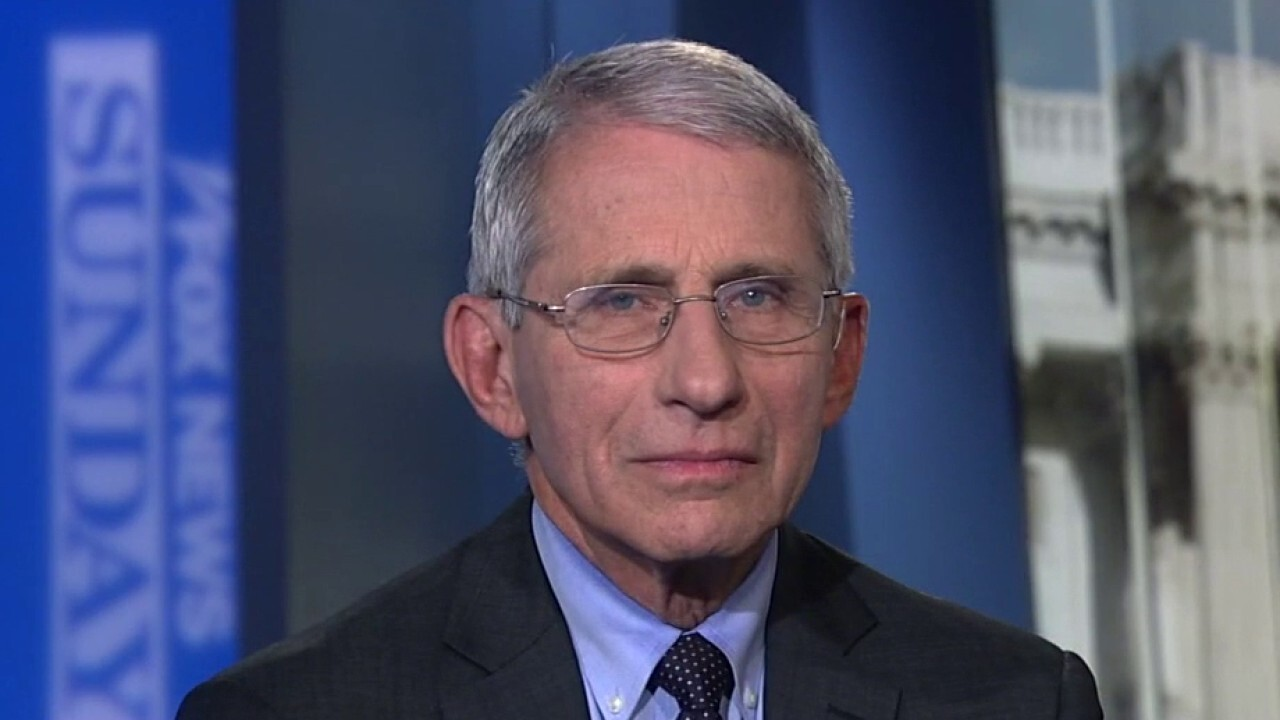 Coronavirus task force member Dr. Anthony Fauci, director of the National Institute of Allergy and Infectious Diseases, joins Chris Wallace on 'Fox News Sunday.'