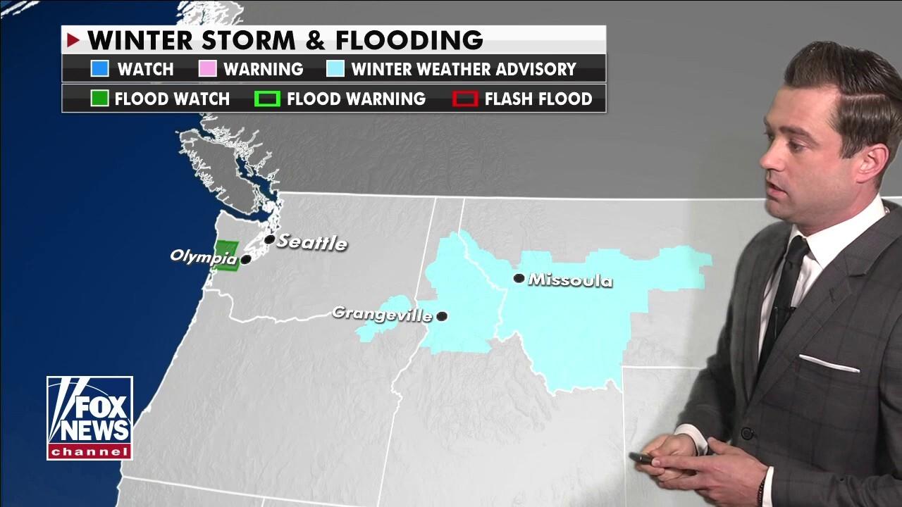 National Forecast, Feb. 24