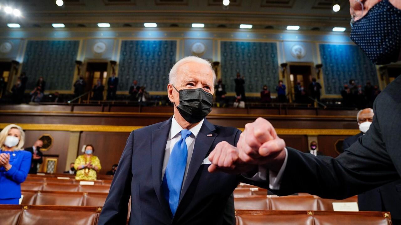 'The Five' slams liberal media's 'glowing' review of Biden's speech