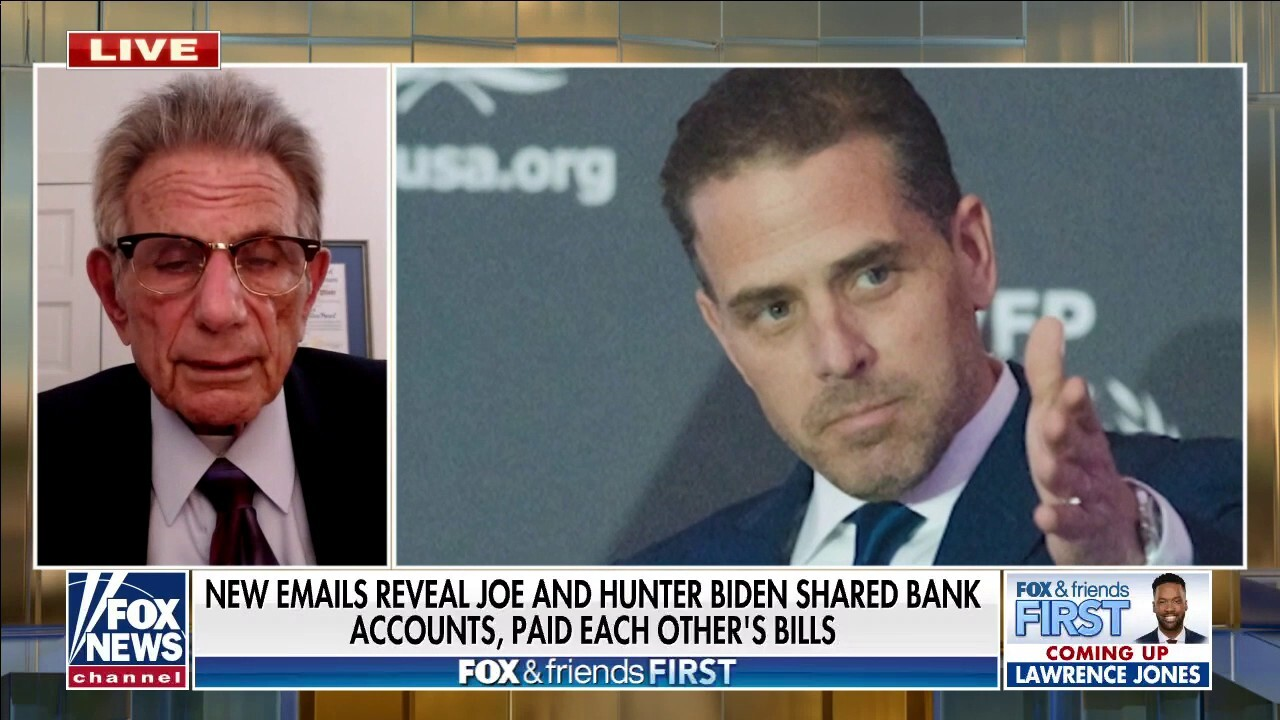 IN HOT WATER: New emails uncovered show Joe Biden shared a bank account with scandal-laden son Hunter Biden