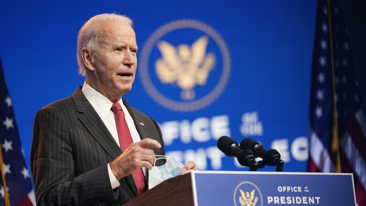Biden to begin receiving President