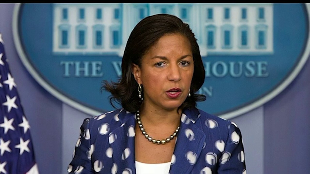 Susan Rice's stock reportedly rising in Biden veepstakes