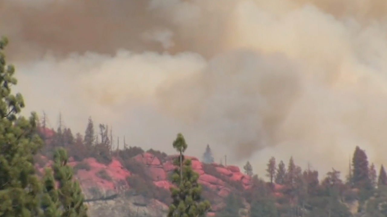 Massive wildfires raging across California