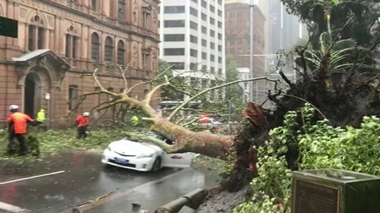 Australia battered with severe storms, flooding