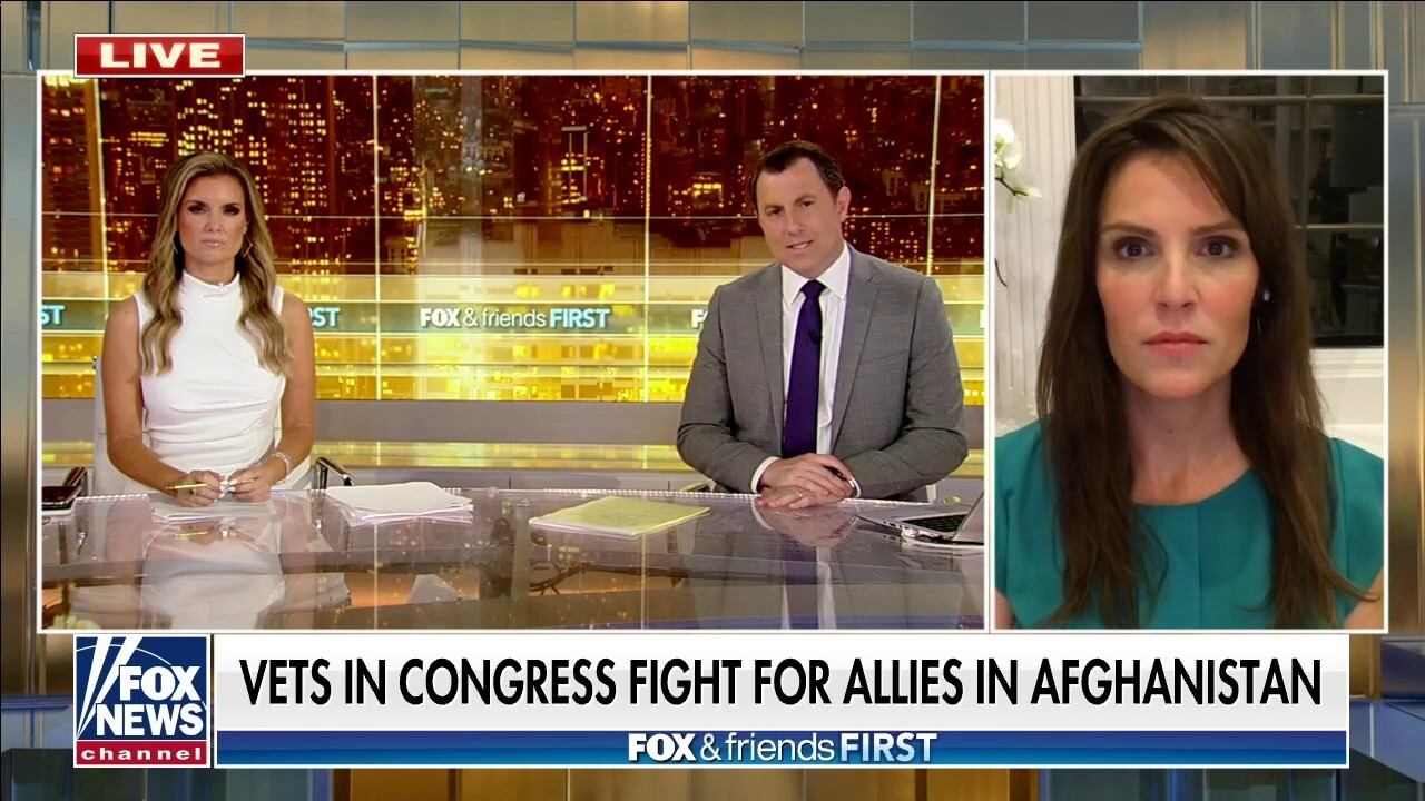 'American Sniper' wife Taya Kyle rips Biden: 'He's so disconnected from the military'
