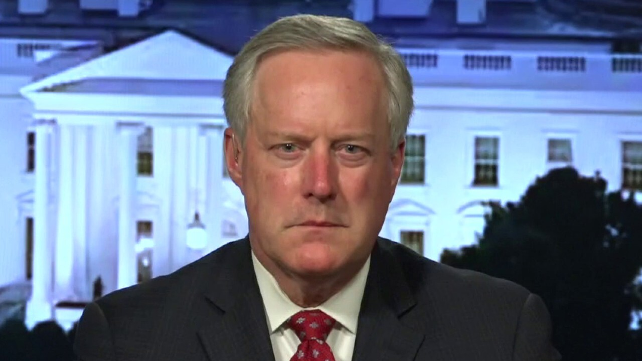 Mark Meadows: President Trump is the only thing standing between a mob and the American people