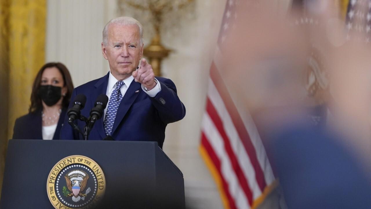Reporters keep jabbing Biden