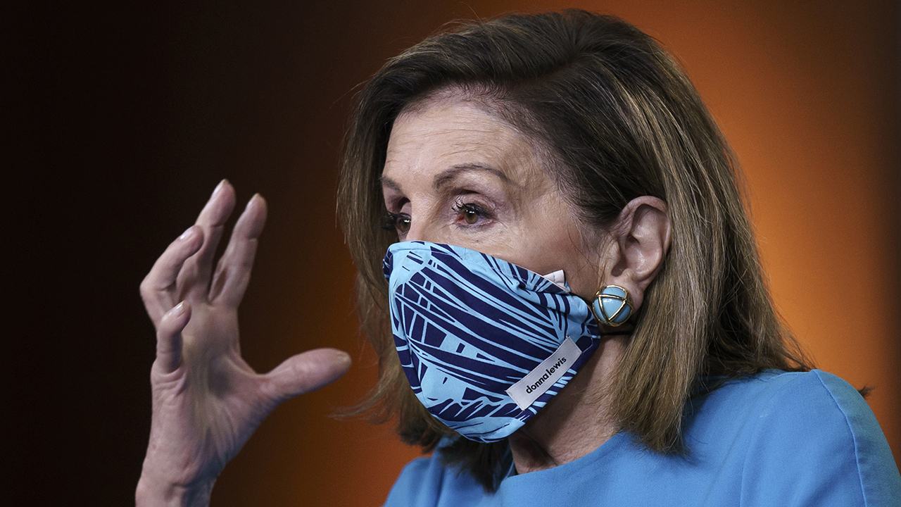 Is Pelosi auditioning for a 'Veep' reboot?