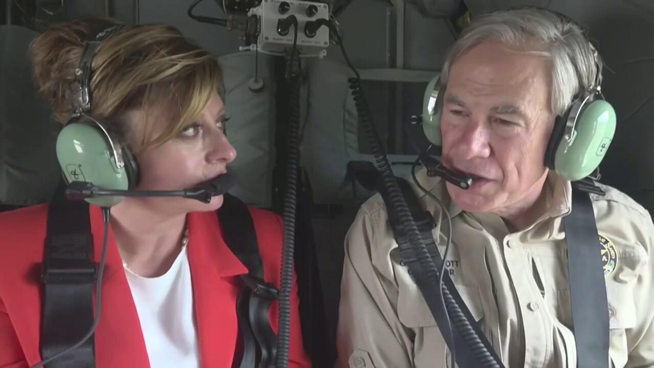 Gov. Abbott tours the border with Maria Bartiromo