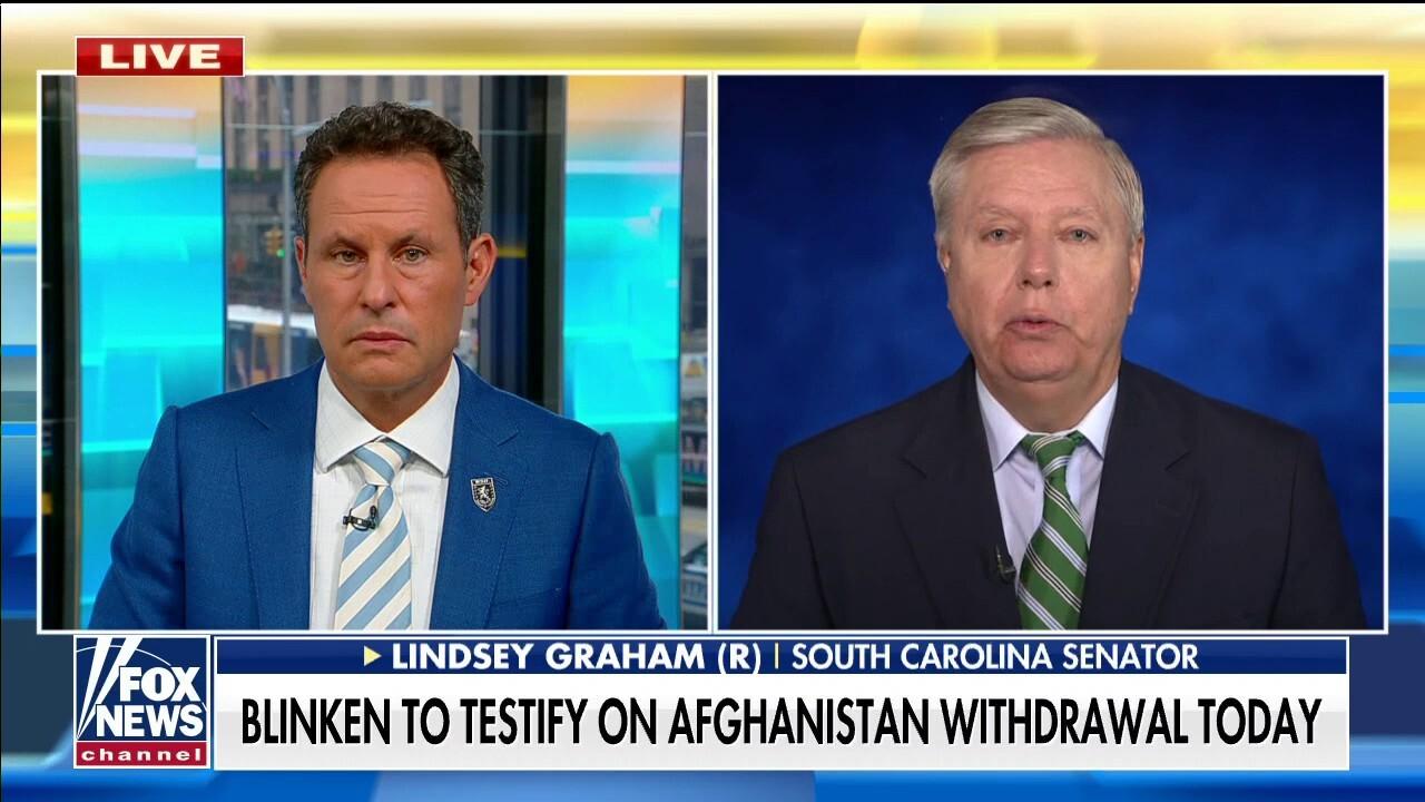 Sen. Graham on Biden Afghanistan exit, upcoming Blinken testimony and looming terror threat