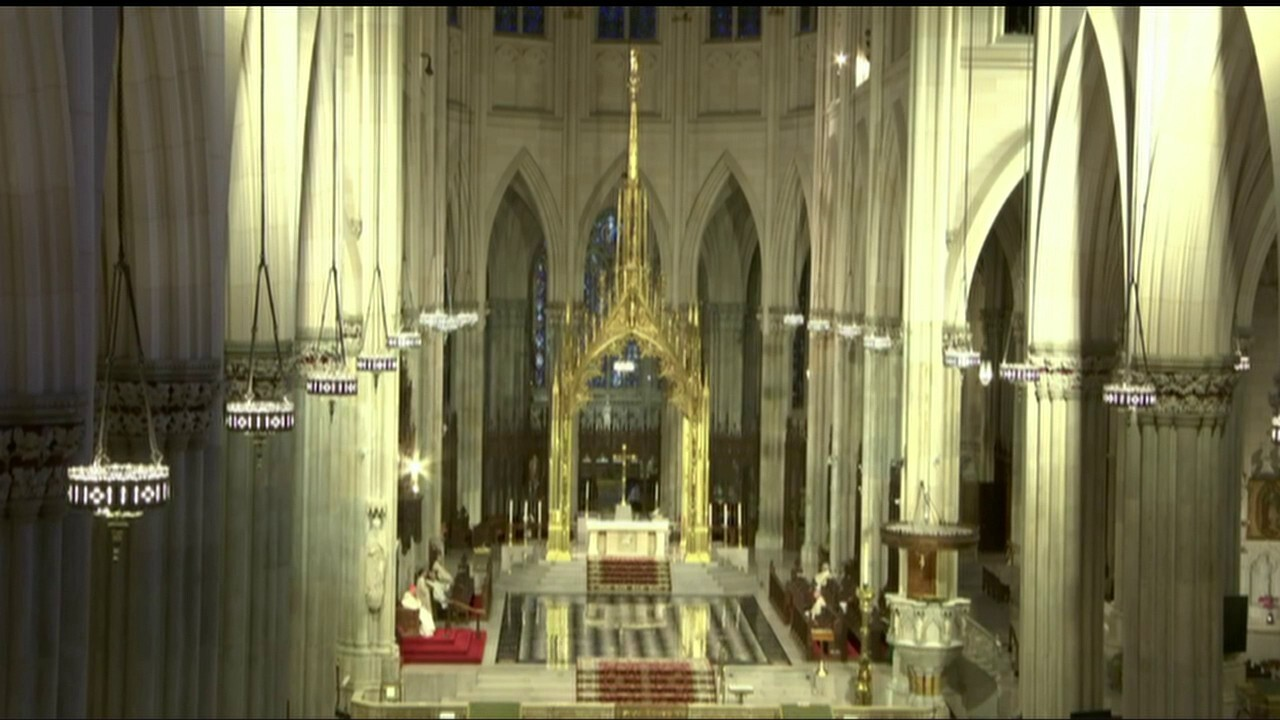 Sunday Mass from St. Patrick's Cathedral