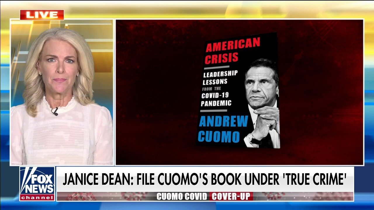 Janice Dean: I thought Cuomo's book deal was a joke, profiting off deaths of New Yorkers is 'disgusting'