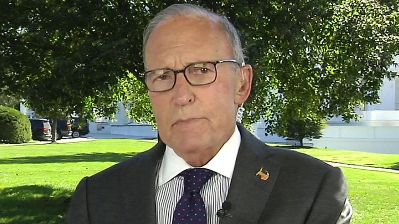 Larry Kudlow tells 'Amerca's Newsroom' the economy is definitely improving