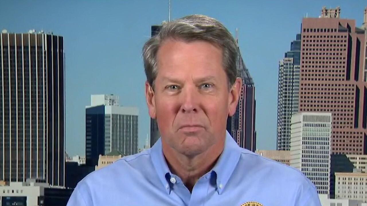 Georgia Gov. Brian Kemp responds to Biden's criticism of new voting law