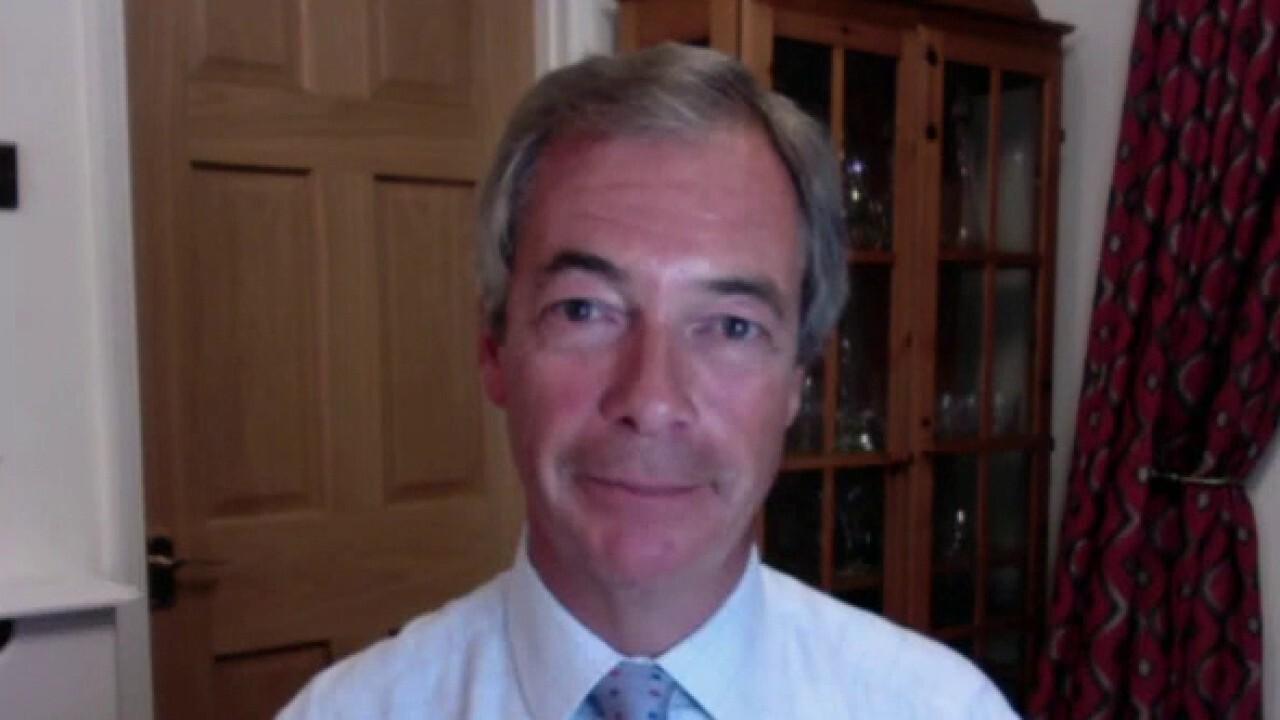 Nigel Farage: Biden made no impression in the UK at all