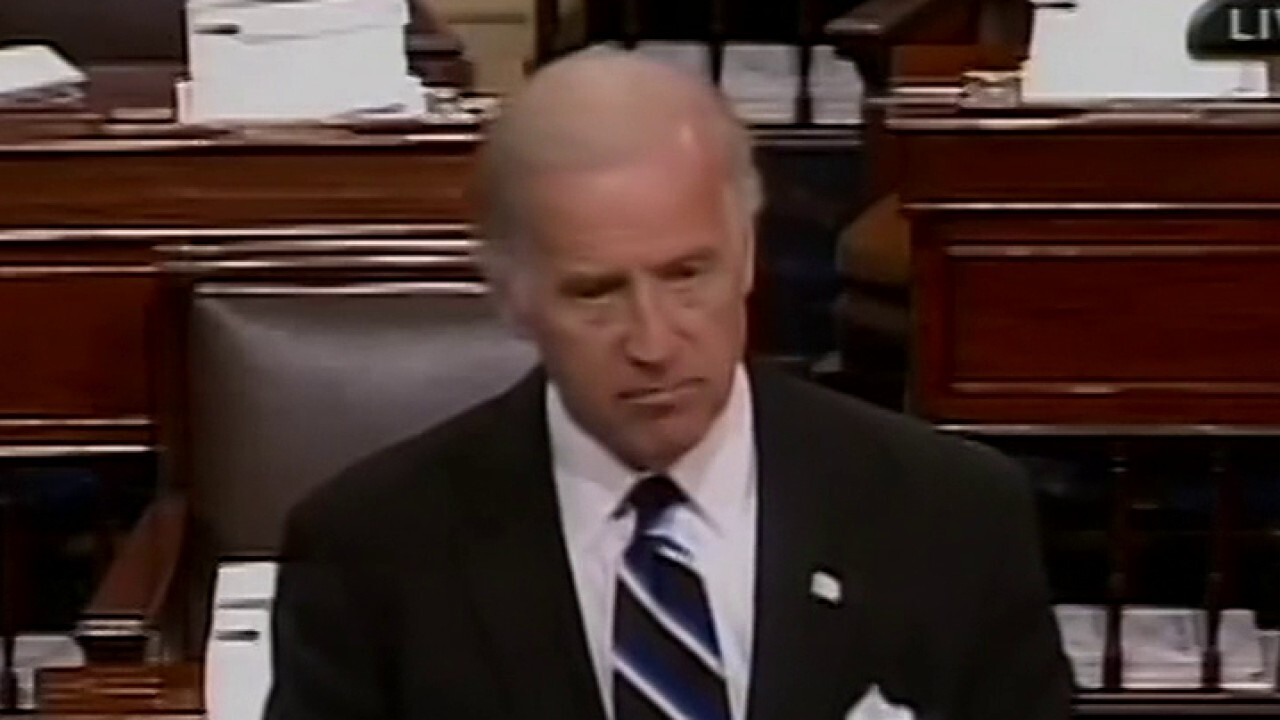 Joe Biden used to be very concerned about 'unmasking'