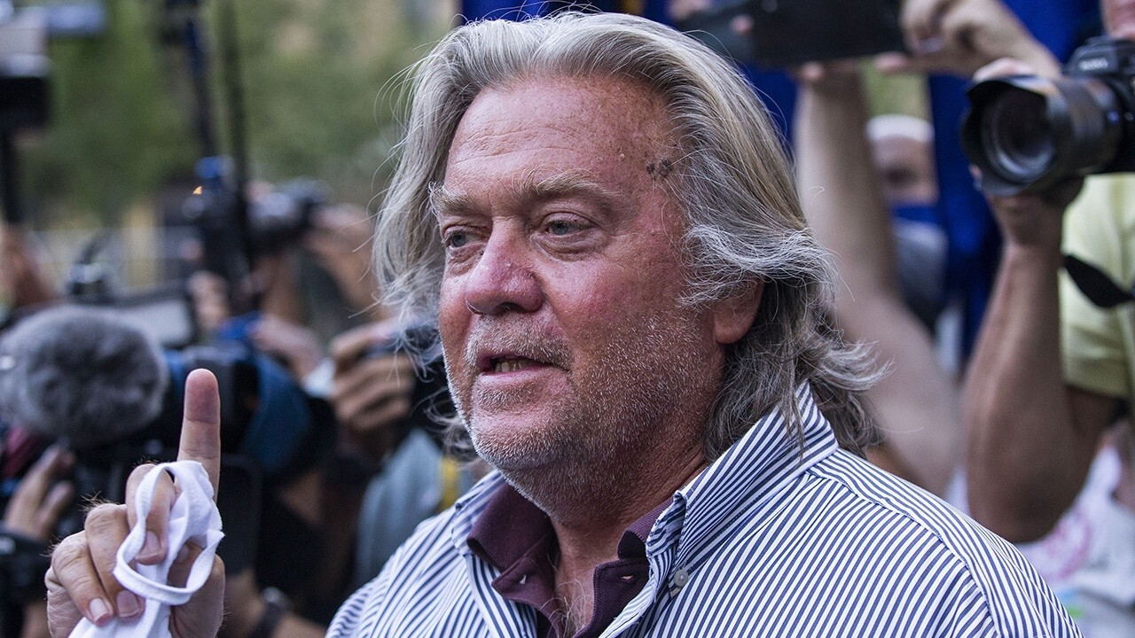 Virtual hearing held for Steve Bannon, 3 others on border wall fraud charges
