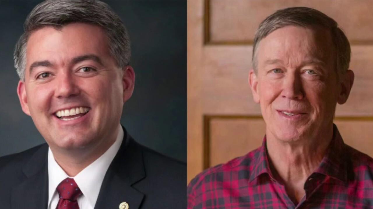 Gardner, Hickenlooper battle for Colorado Senate seat