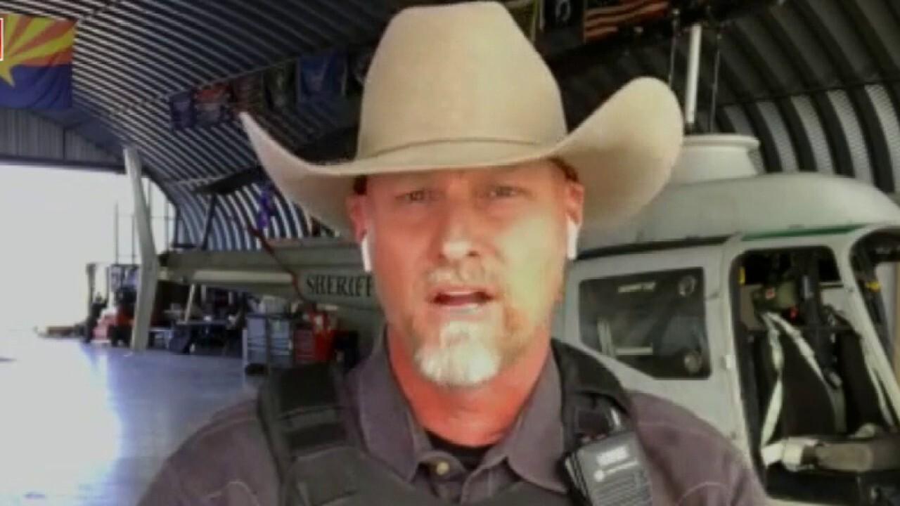 Biden admin 'losing credibility' by not calling border a 'crisis': AZ sheriff