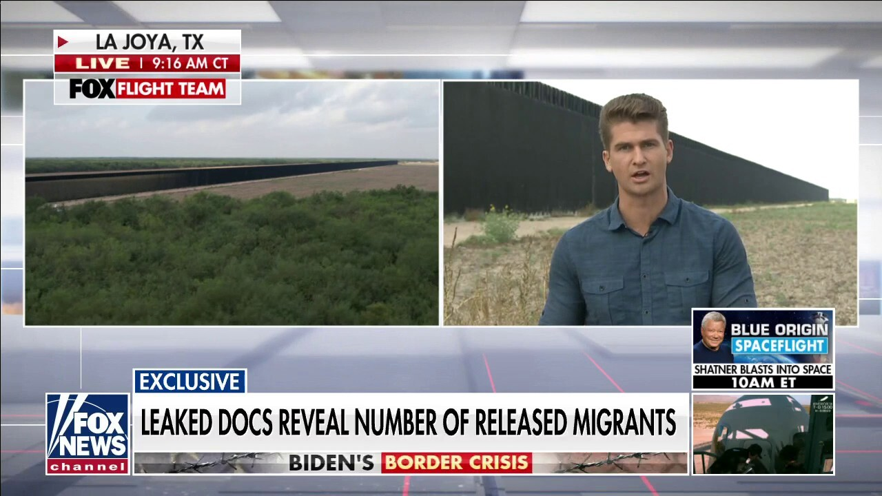 Leaked document reveals numbers of migrants released into the U.S.