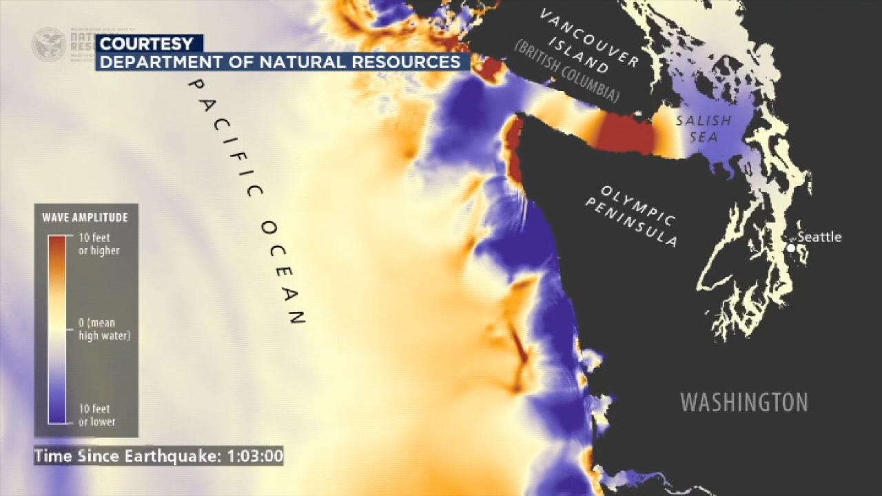 New tsunami simulations show 'the big one' could cause devastation on Washington coast