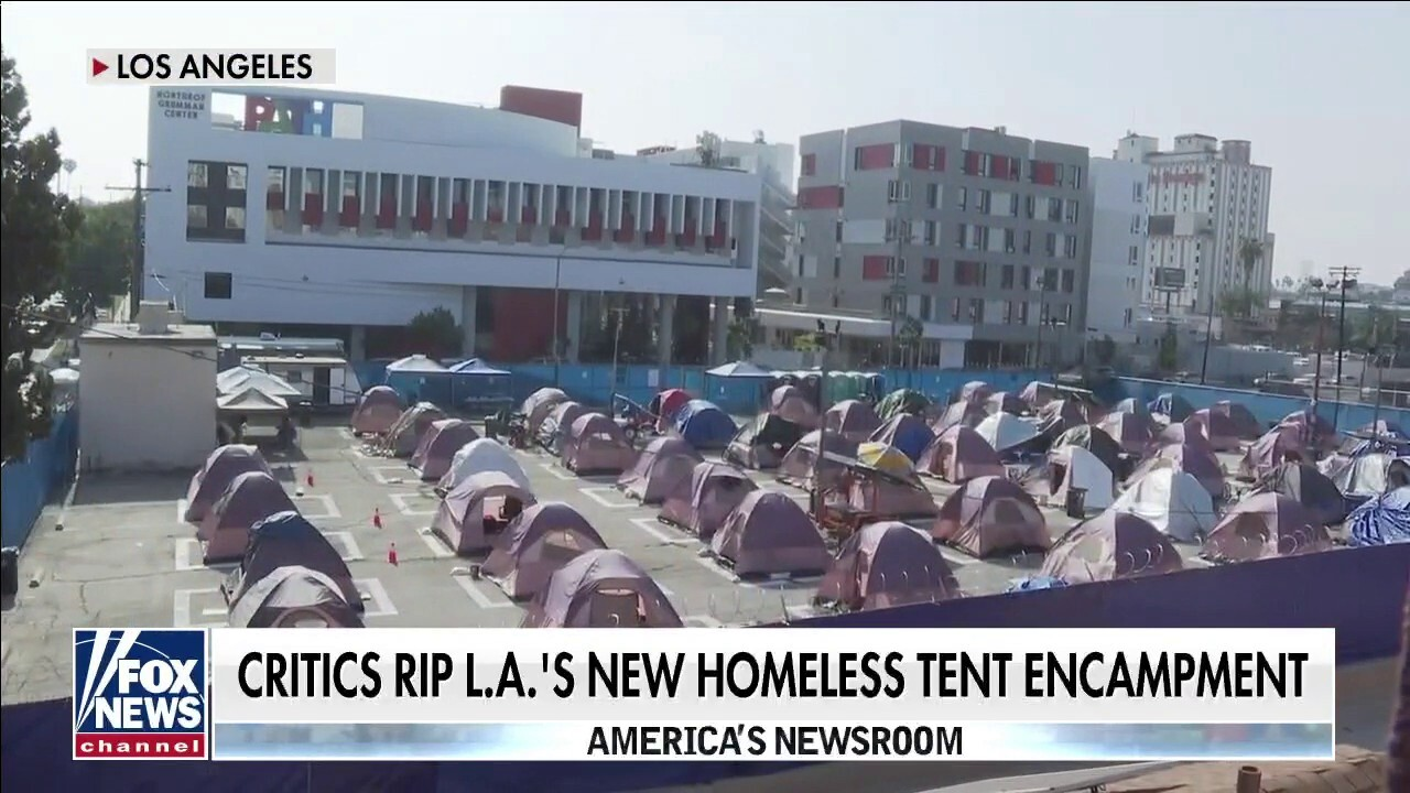 The cost of homelessness: 2.6k per month for tent in Los Angeles