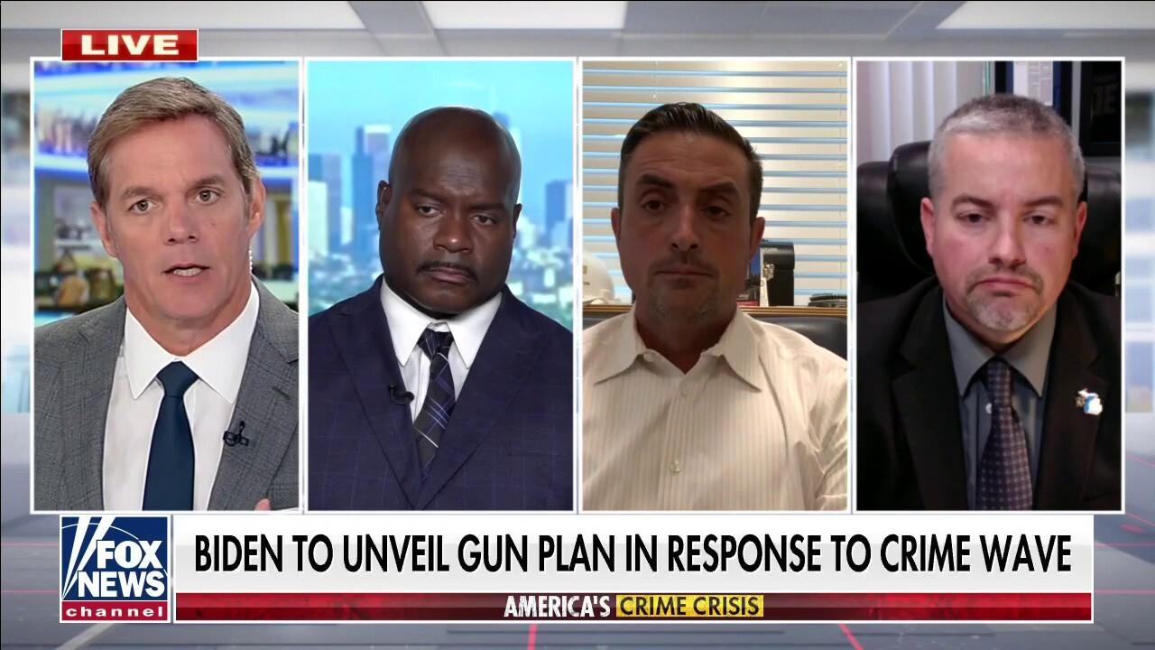 Law enforcement on solving America's crime crisis