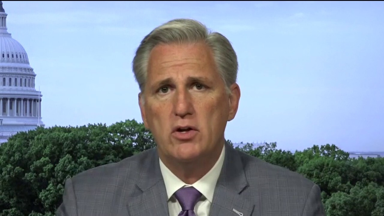 Leader McCarthy calls out Schumer for 'playing politics with American lives' over Russia bounty allegations