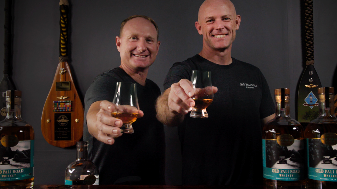 Marine veterans empower community through their Hawaiian whiskey distillery as coronavirus cases surge on the island