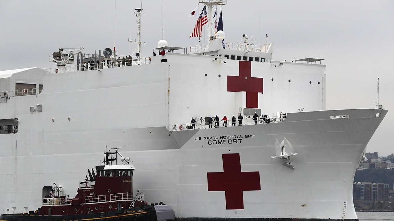 First patients expected to board USNS Comfort in New York Harbor