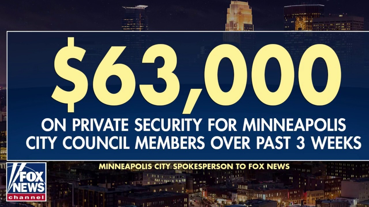 Minneapolis council members pushing to abolish police spend thousands of taxpayer dollars on private security