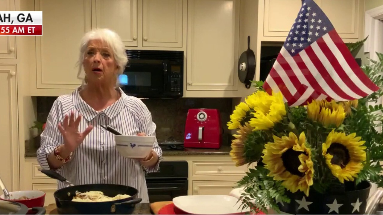 Paula Deen shares her 4th of July meals with 'Fox & Friends'