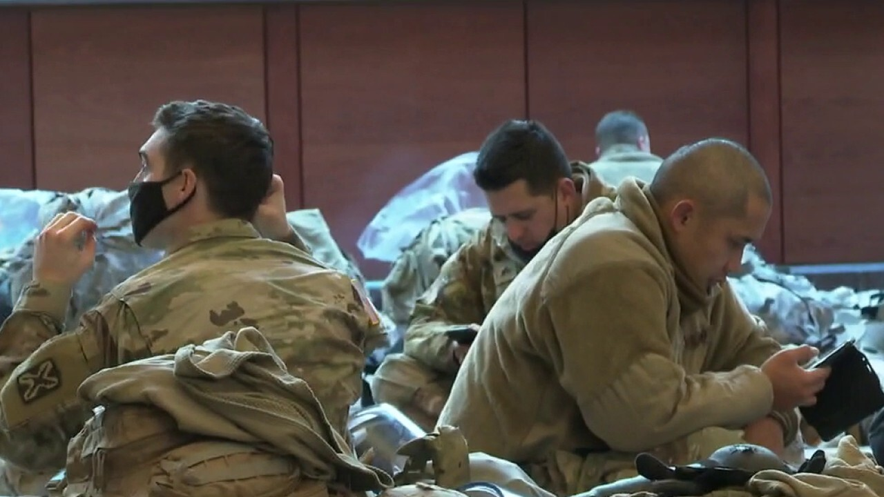 DC National Guard to stay in Capitol through March