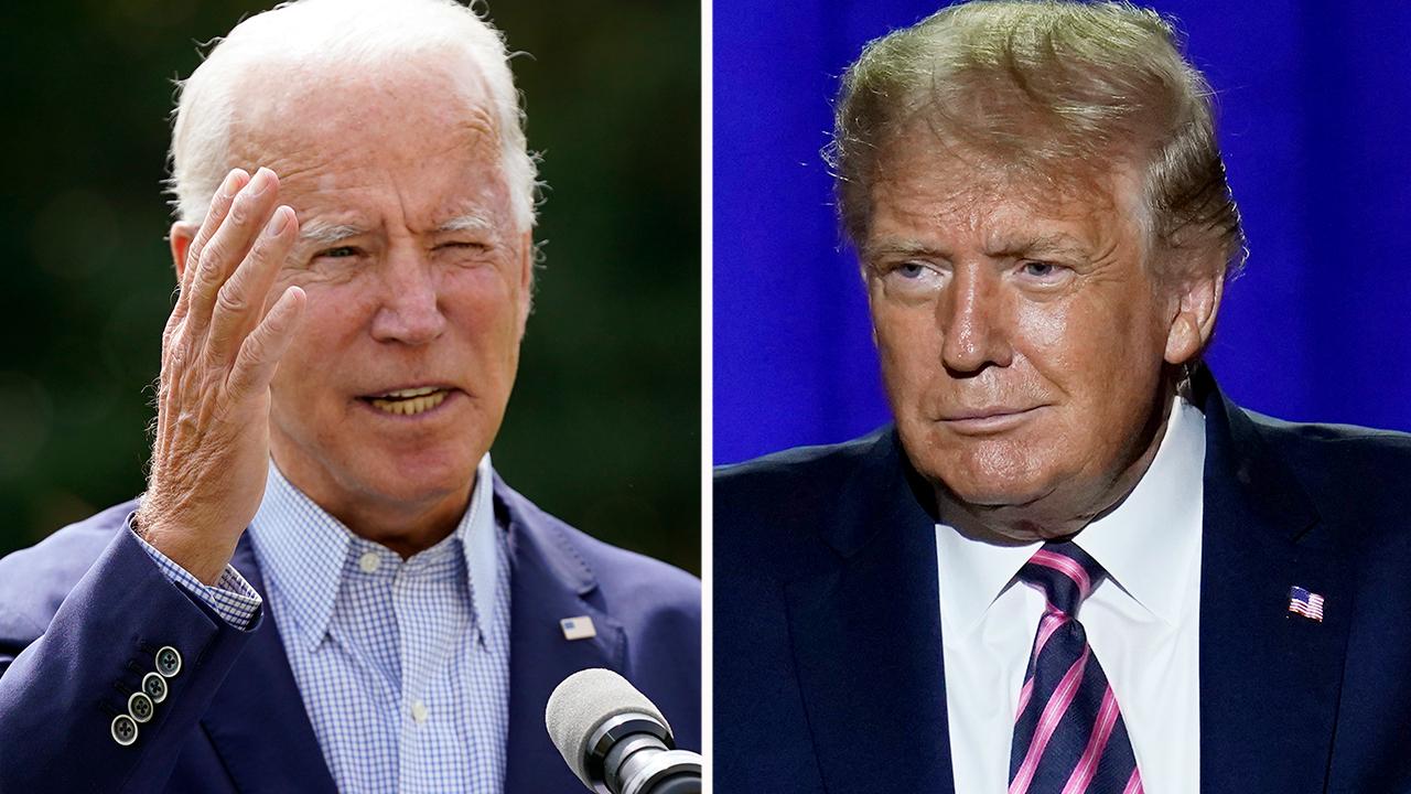 Trump campaigns in Pennsylvania as Biden campaigns in Florida