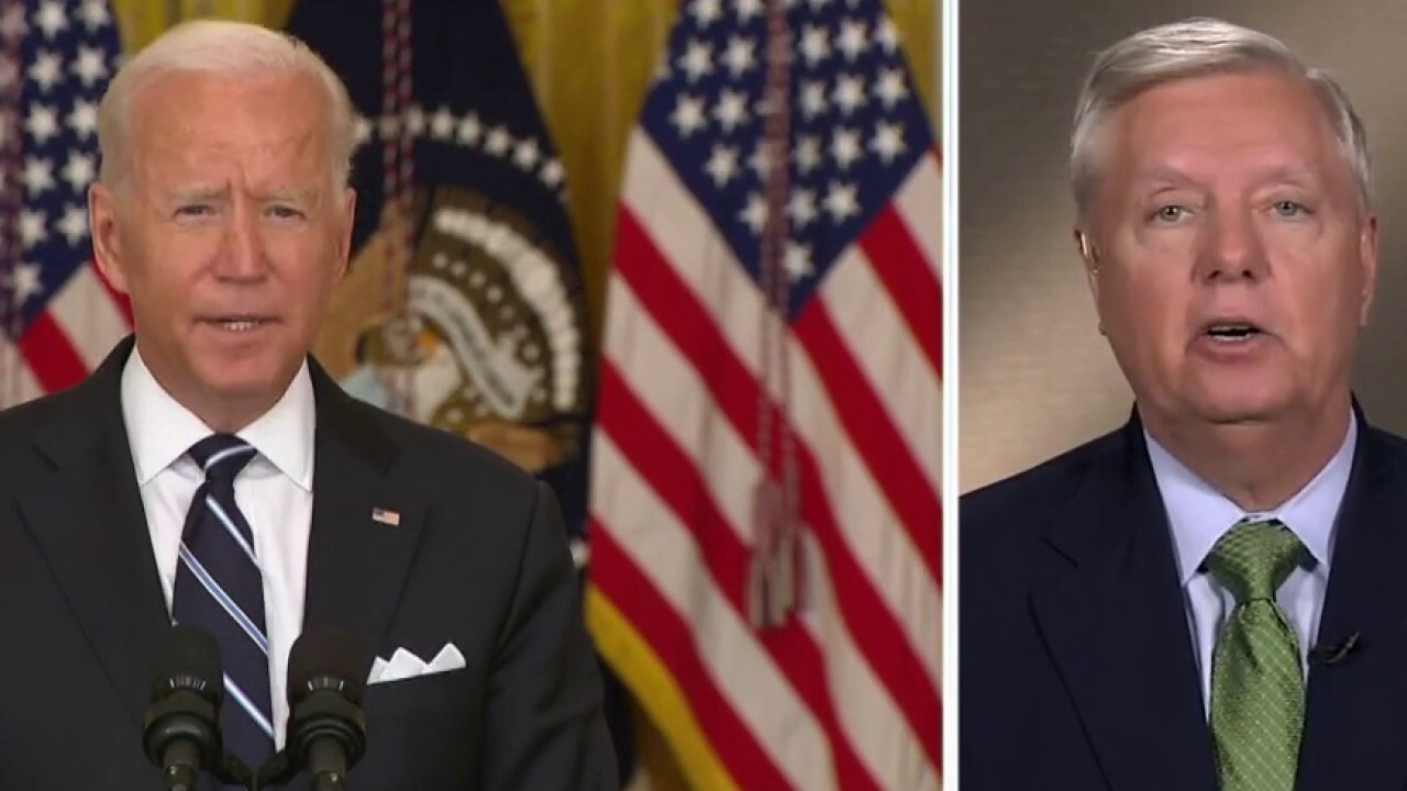 Lindsey Graham torches Biden: 'Most dishonorable thing a Commander-in-Chief has done in modern times'