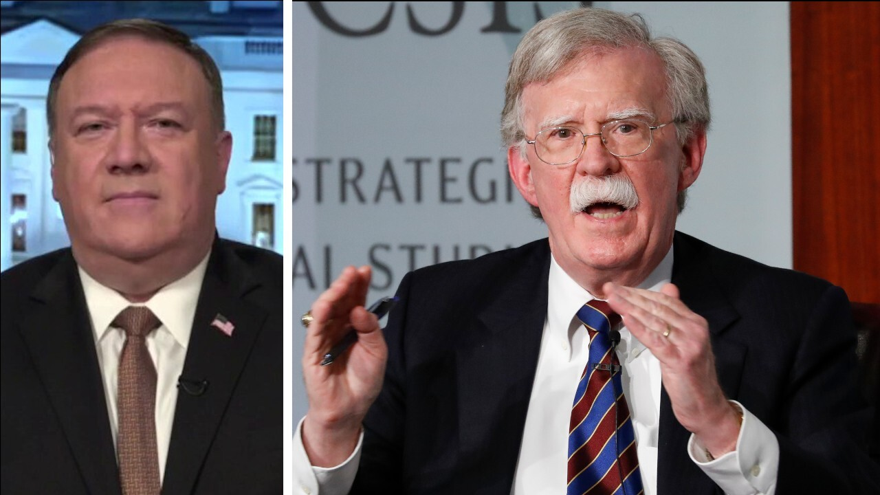Secretary Mike Pompeo likens John Bolton to Edward Snowden, says Bolton's book presents real risk, harm to US
