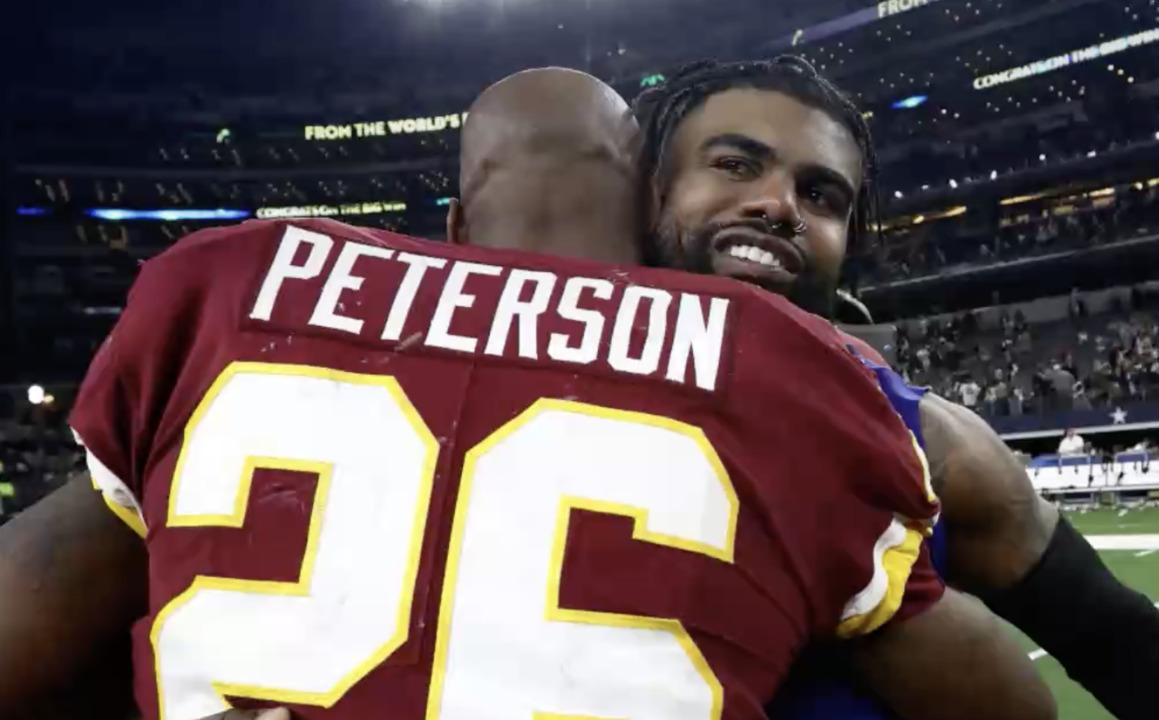 Veteran RB Adrian Peterson released from Washington Football Team