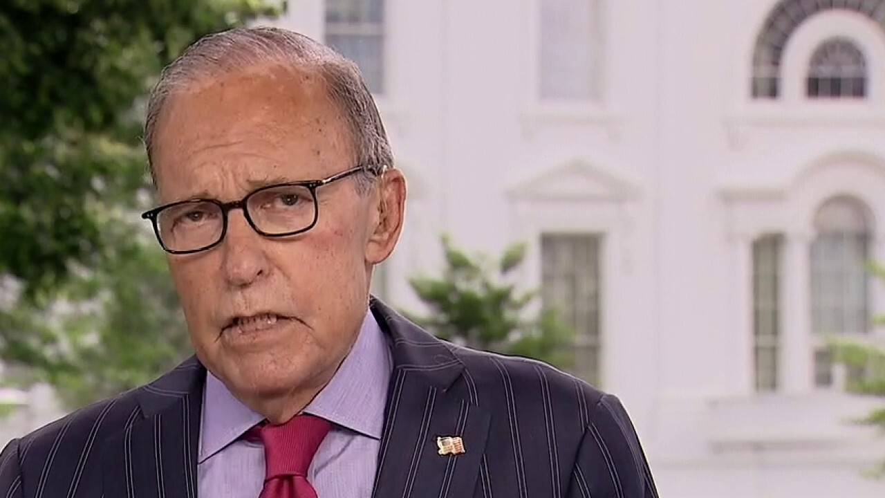 Kudlow on COVID second wave: It's 'controllable,' we're not shutting down economy again