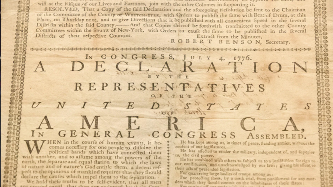 Glenn Ellmers talks Declaration of Independence on 'Tucker Carlson Today'