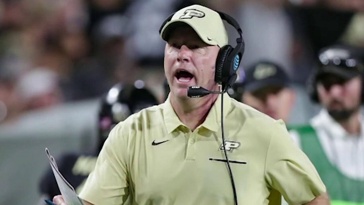 Purdue University football coach unveils plan to keep season alive after Big Ten abandons fall play