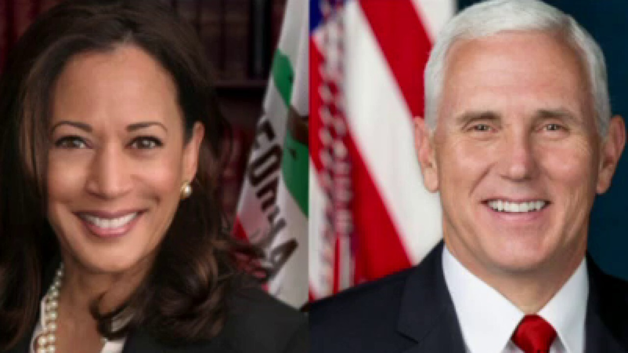 Pence, Harris gear up for their one and only debate