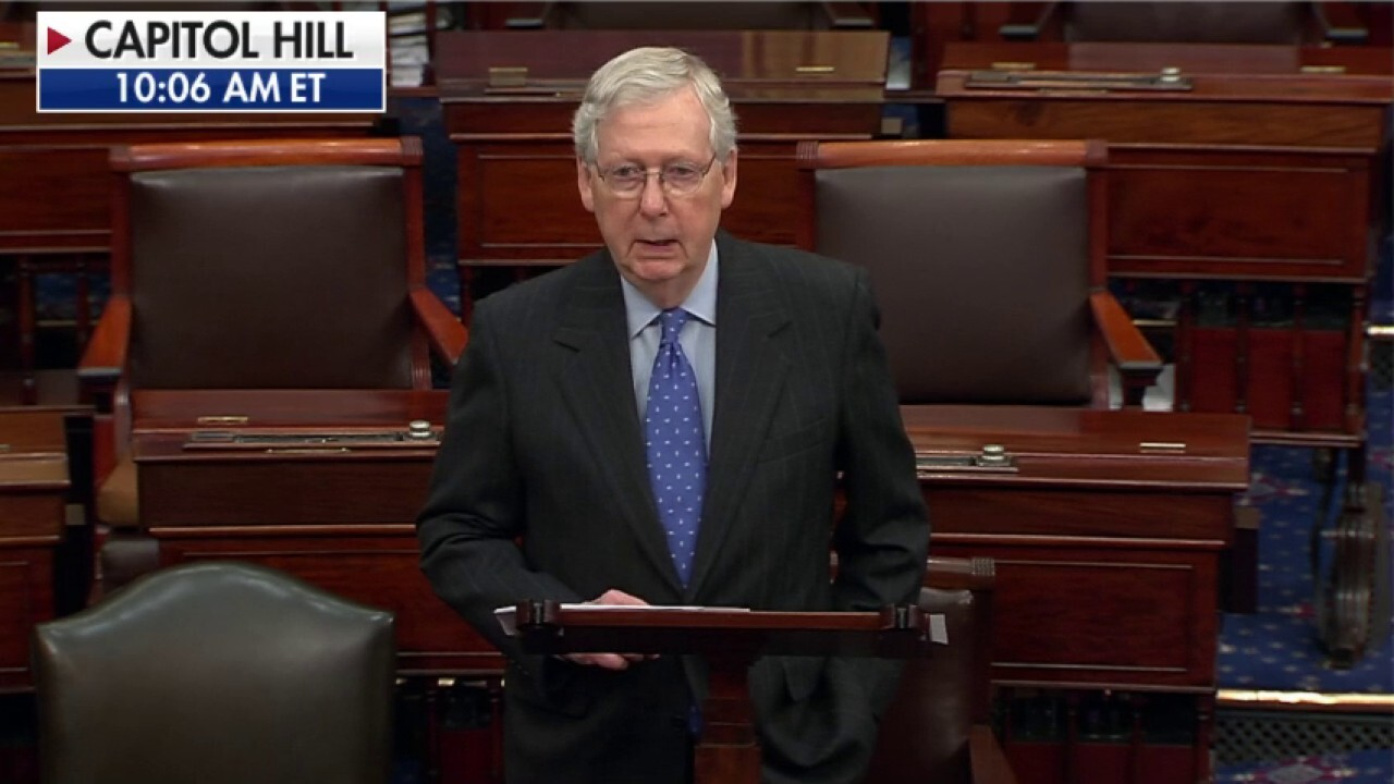 Mitch McConnell: America had to watch Senate 'spin its wheels' during 'national crisis'