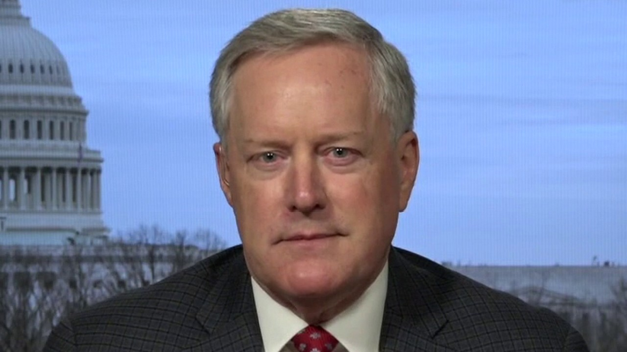 Mark Meadows: Biden administration policies put 'America last'