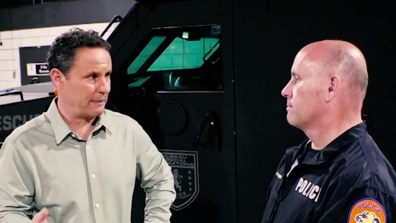 Brian Kilmeade talks to police officers on realities, dangers of job