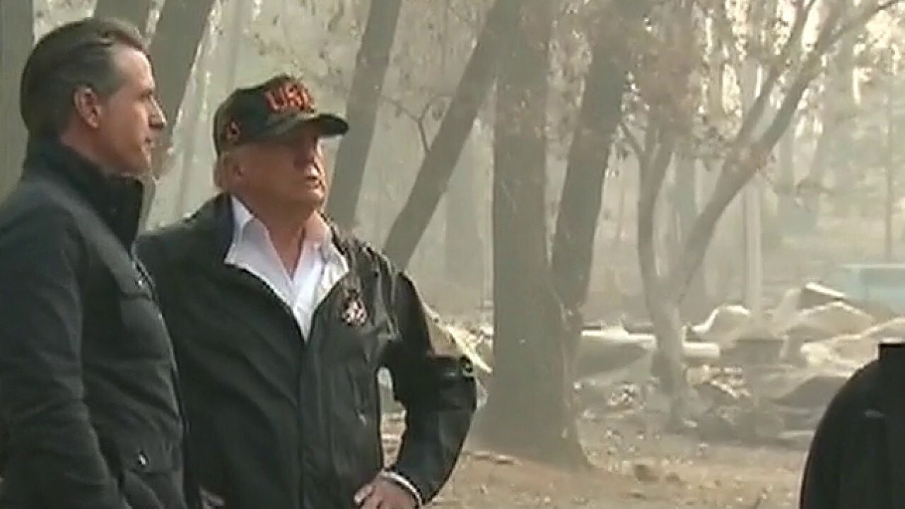 Trump to survey wildfire damage in California